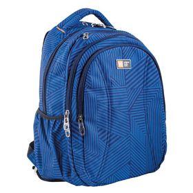 Рюкзак молодёжный Yes T-31 44 х 31 х 13.5 см, эргономичная спинка, отделение для ноутбука, Lori, синий