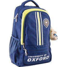 Рюкзак молодёжный Yes OX 315 45 х 29 х 15 см, эргономичная спинка, синий