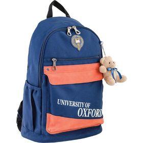 Рюкзак молодёжный Yes OX 288 46.5 х 30.5 х 17 см, эргономичная спинка, синий