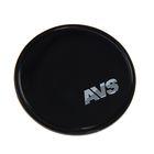 Противоскользящий коврик AVS NP-004, круглый, диаметр 8 см, чёрный