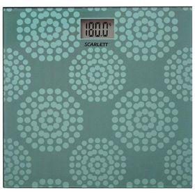 Весы напольные Scarlett SC-BS33E073, электронные, до 180 кг, стекло