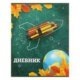 Дневник универсальный 1-11 класс 'Школа', мягкая обложка Ош