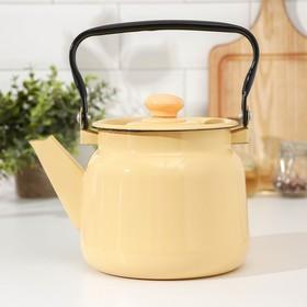 Чайник 2,3 л, цвет палевый
