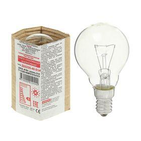 """Лампа накаливания """"Лисма"""", ДШ, E14, 40 Вт, 230 В"""