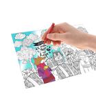 """Раскраска антистресс, вкладка для термокружки """"Уютное счастье"""", 4 рисунка"""