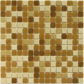 Мозаика стеклянная на бумаге Bonaparte, Aqua-300 327х327х4 мм