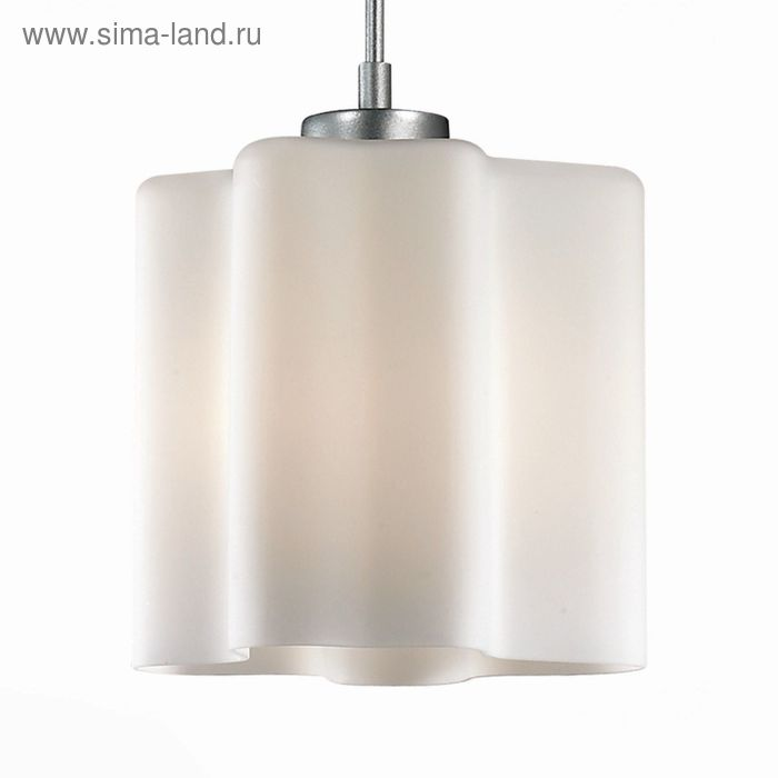 Светильник ONDE 60Вт E27 серебро 19x19x120см