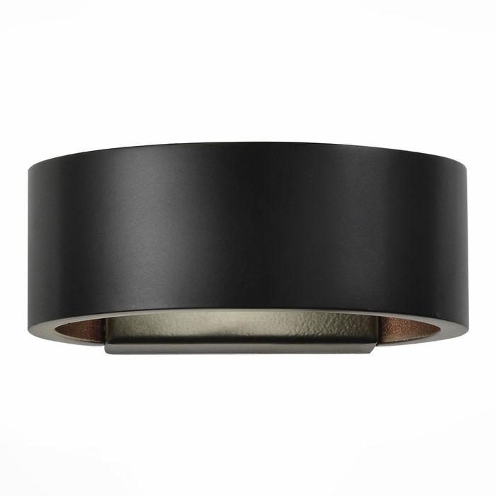 Бра FONDO 6Вт LED черный 14x5см