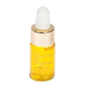 Масло JessNail для увлажнения и питания кутикулы, золотая крышка, аромат апельсин, 3 мл