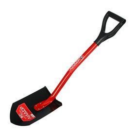 Лопата автомобильная, L = 87 см, металлический черенок, с ручкой, «Лидер» Ош