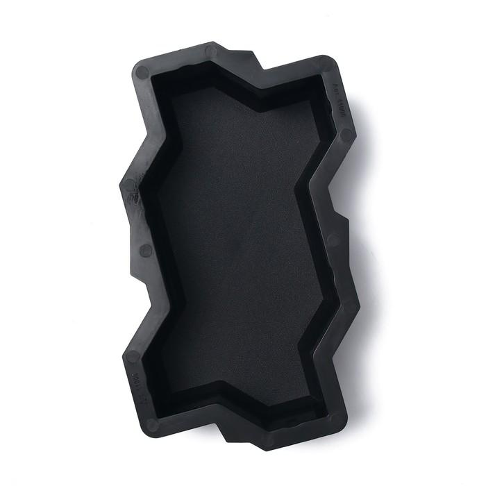 Форма для тротуарной плитки Волна, 21  11  6 см, шагрень, Ф11006, 1 шт