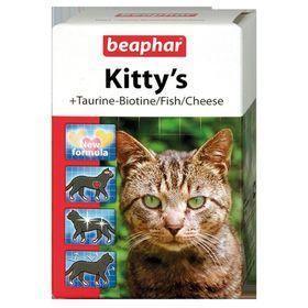 """Витамины Beaphar """"Kitty's"""" для кошек, микс 180 шт"""