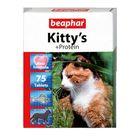 """Витамины Beaphar """"Kitty's"""" для кошек, протеин, 75 шт"""