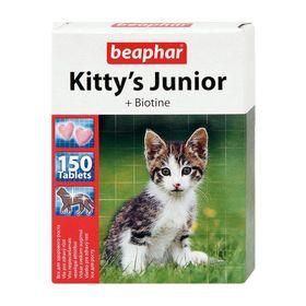 """Витамины Beaphar """"Kitty's"""" Юниор для котят, 150 шт"""