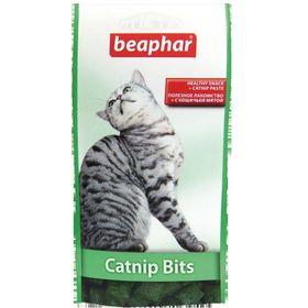 Подушечки Beaphar Catnip-Bits с кошачьей мятой для кошек, 35 г