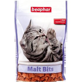 """Подушечки Beaphar  """"Malt-Bits"""" с мальт-пастой 150гр, для кошек"""