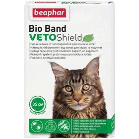 Ошейник Beaphar  Bio Band от блох, клещей,комаров (4мес), 35см для кошек и котят