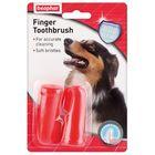 Зубная щетка Beaphar  двойная для собак на палец