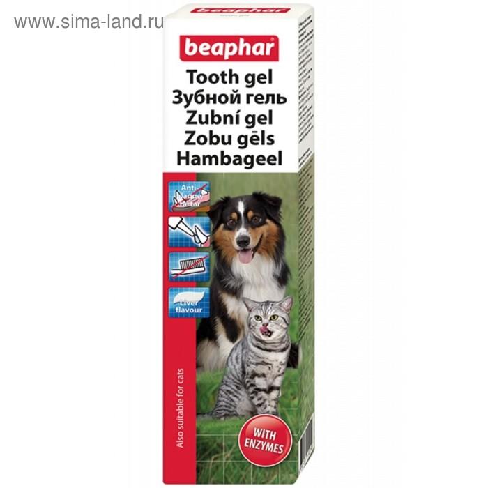 Гель Beaphar  Tooth gel со вкусом печени для чистки зубов для собак, 100 мл