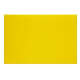 Картон цветной А4, 240 г/м2 'Нева' жёлтый, мелованный Ош