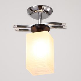 """Люстра еврокаркас """"Гораций"""" 1 лампа 40W E27 хром 28х10х22 см"""