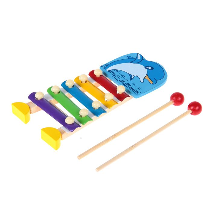 Металлофон малый Дельфинчик, 5 тонов