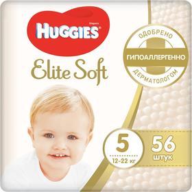 Подгузники Mega Elite Soft 5, 12-22кг, 56 шт