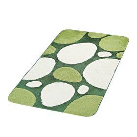 Коврик для ванной, комнаты Pepple, цвет зеленый