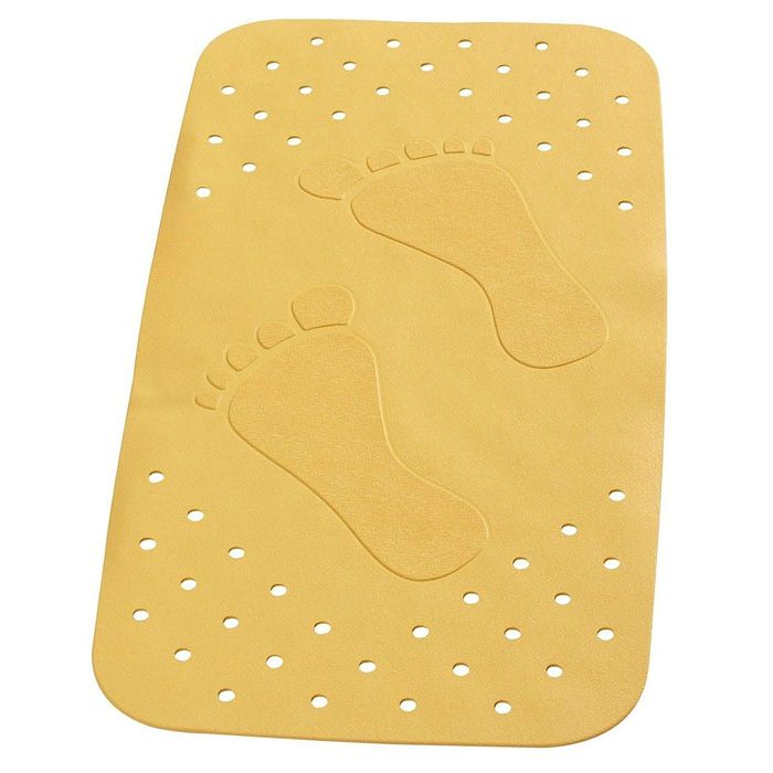 SPA-коврик противоскользящий Plattfuß, цвет желтый