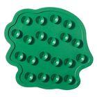 Мини-коврики для ванны Slip-Not XXS 6 шт, цвет зелёный - Фото 2