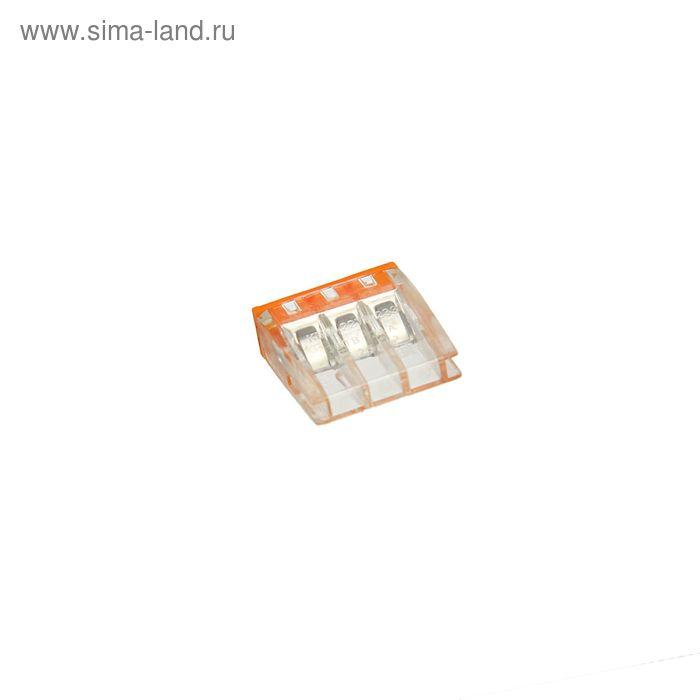Строительно-монтажная клемма КБМ-2273-233, 2.5 мм2, с пастой