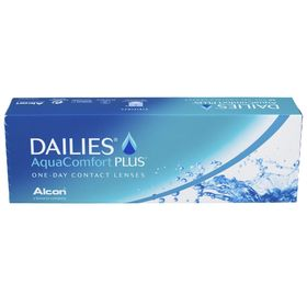Контактные линзы Focus Dailies AquaComfort+, -10.0/8,7, в наборе 30шт