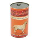 Влажный корм Prolapa Premium для собак, ягненок в соусе, ж/б, 1240 г.