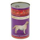 Влажный корм Prolapa Premium для собак, дичь в соусе, ж/б, 1240 г.