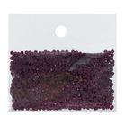 Стразы для алмазной вышивки, 10 гр, не клеевые, круглые d=2,5мм 3834 Grape DK