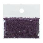 Стразы для алмазной вышивки, 10 гр, не клеевые, круглые d=2,5мм 327 Purple DK
