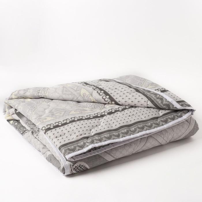 Одеяло 2сп облег 175х205 овечья шерсть 200г/м, бязь МИКС 120г/м хл100%