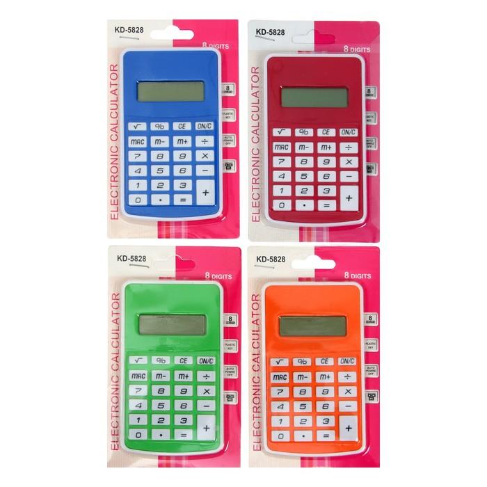 Калькулятор карманный, 8-разрядный, 5828