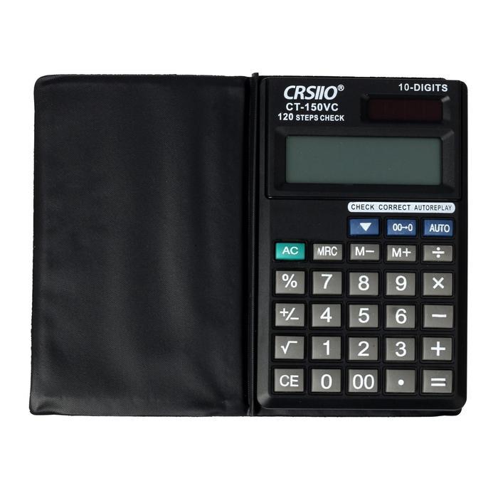Калькулятор карманный, 10-разрядный ,150V, двойное питание