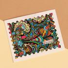 Слайдер-дизайн для ногтей переводной, водный, разноцветный