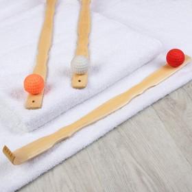 Массажёр - чесалка «Мячик», универсальный, цвет МИКС Ош