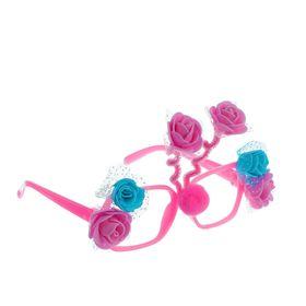 Карнавальные очки «Розочки», цвета МИКС Ош