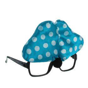 Карнавальные очки «Бантик», цвет голубой Ош