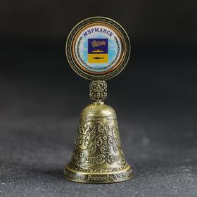 Колокольчик со вставкой «Мурманск»