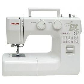Швейная машина Janome Juno 523, 60 Вт, 23 операций, автомат, белая