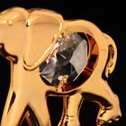 Сувенир «Слон», 3×6×5 см, с кристаллами Сваровски - Фото 3