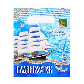 Пакет подарочный «Владивосток. Морской» Ош