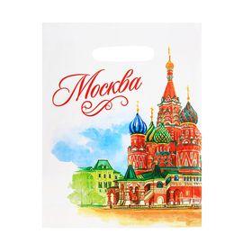 Пакет подарочный «Москва. Акварель» Ош