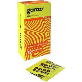 Презервативы «Ganzo» Juice, ароматизированные, 12 шт