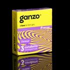 Презервативы «Ganzo» Sense, тонкие, 3 шт